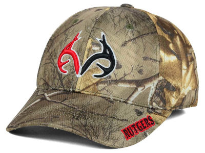 Rutgers Scarlet Knights Top of the World NCAA Realtree XB1 Camo Cap