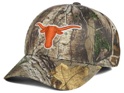 Texas Longhorns Top of the World NCAA Realtree XB1 Camo Cap