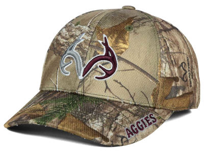 Texas A&M Aggies Top of the World NCAA Realtree XB1 Camo Cap