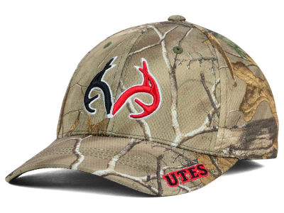 Utah Utes Top of the World NCAA Realtree XB1 Camo Cap