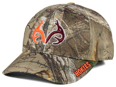 Virginia Tech Hokies Top of the World NCAA Realtree XB1 Camo Cap