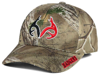 Wisconsin Badgers Top of the World NCAA Realtree XB1 Camo Cap