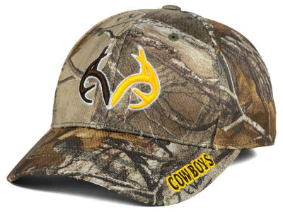 Wyoming Cowboys Top of the World NCAA Realtree XB1 Camo Cap