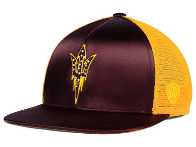 Arizona State Sun Devils Top of the World NCAA Women's Big Satin Snapback Cap