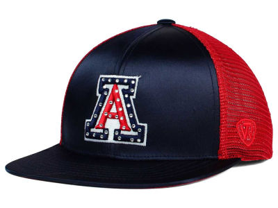 Arizona Wildcats Top of the World NCAA Women's Big Satin Snapback Cap