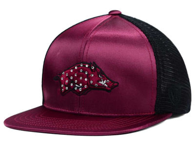 Arkansas Razorbacks Top of the World NCAA Women's Big Satin Snapback Cap