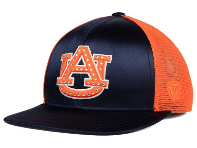 Auburn Tigers Top of the World NCAA Women's Big Satin Snapback Cap