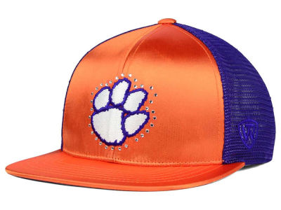 Clemson Tigers Top of the World NCAA Women's Big Satin Snapback Cap