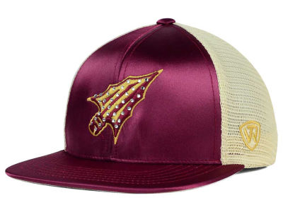Florida State Seminoles Top of the World NCAA Women's Big Satin Snapback Cap