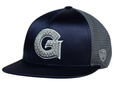 Georgetown Hoyas Top of the World NCAA Women's Big Satin Snapback Cap