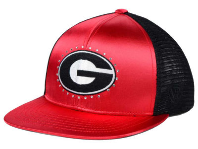 Georgia Bulldogs Top of the World NCAA Women's Big Satin Snapback Cap