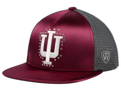 Indiana Hoosiers Top of the World NCAA Women's Big Satin Snapback Cap