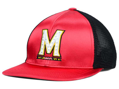 Maryland Terrapins Top of the World NCAA Women's Big Satin Snapback Cap