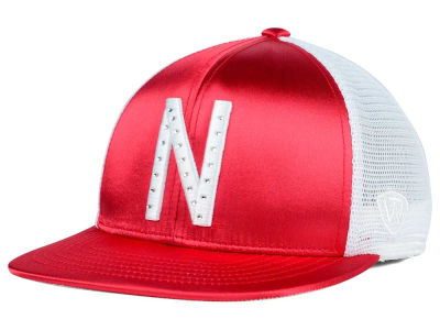 Nebraska Cornhuskers Top of the World NCAA Women's Big Satin Snapback Cap