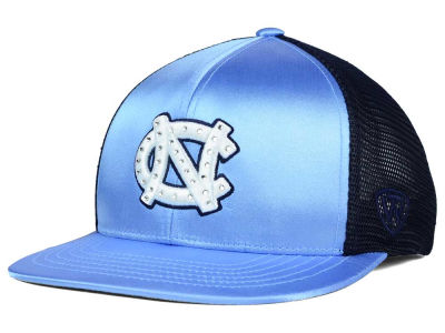 North Carolina Tar Heels Top of the World NCAA Women's Big Satin Snapback Cap