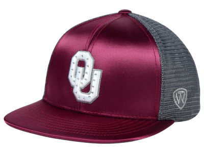 Oklahoma Sooners Top of the World NCAA Women's Big Satin Snapback Cap
