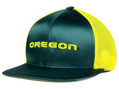Oregon Ducks Top of the World NCAA Women's Big Satin Snapback Cap