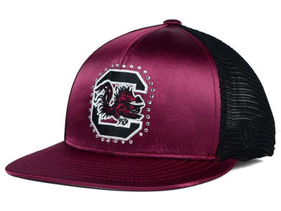 South Carolina Gamecocks Top of the World NCAA Women's Big Satin Snapback Cap