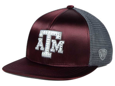 Texas A&M Aggies Top of the World NCAA Women's Big Satin Snapback Cap