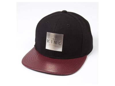 King Apparel Insignia Metal Snapback Hat