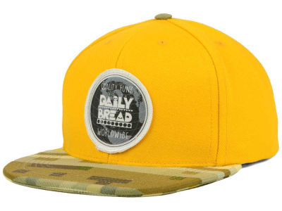 Daily Bread Canvas and Maharam Digi Camo Snapback Hat