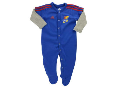 Kansas Jayhawks NCAA Newborn Player Long Sleeve Coverall