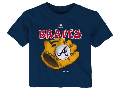 Atlanta Braves MLB Toddler Baseball Mitt T-Shirt