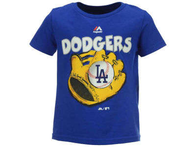 Los Angeles Dodgers MLB Toddler Baseball Mitt T-Shirt