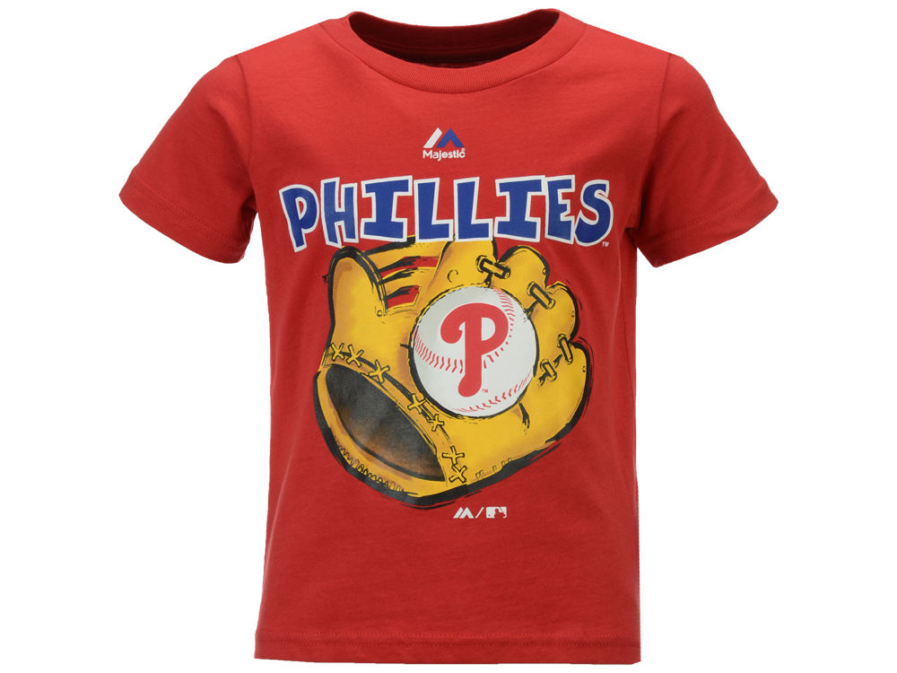 Philadelphia Phillies MLB Toddler Baseball Mitt T-Shirt  c1efbe7ea53