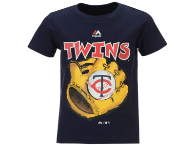 Minnesota Twins MLB Toddler Baseball Mitt T-Shirt