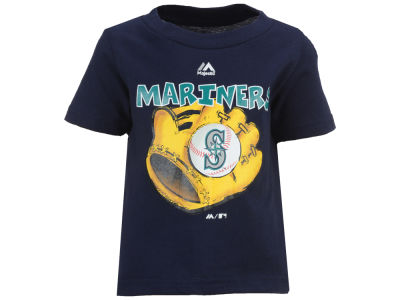 Seattle Mariners MLB Infant Baseball Mitt T-Shirt