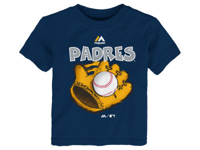 San Diego Padres MLB Infant Baseball Mitt T-Shirt