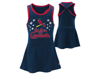 St. Louis Cardinals Majestic MLB Toddler Criss Cross Tank Dress