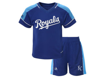 Kansas City Royals MLB Toddler Baseball Classic Short Set