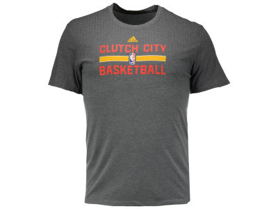 Houston Rockets adidas NBA Men's Pride Practice Jersey Hook T-Shirt