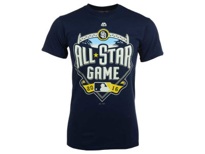 Majestic MLB Men's 2016 All Star Game Logo T-Shirt