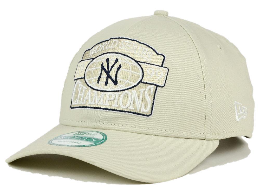 40f0df8d40a ... new york yankees new era mlb 20th anniversary world series champ 9forty  cap