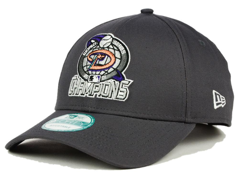 Arizona Diamondbacks New Era MLB 20th Anniversary World Series Champ 9FORTY  Cap  470a8e911b8e