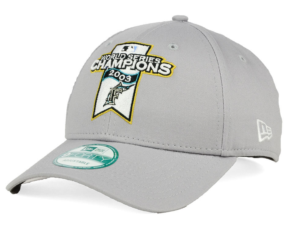 Florida Marlins New Era MLB 20th Anniversary World Series Champ 9FORTY Cap