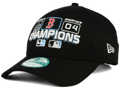Boston Red Sox 2004 New Era MLB 20th Anniversary World Series Champ 9FORTY Cap