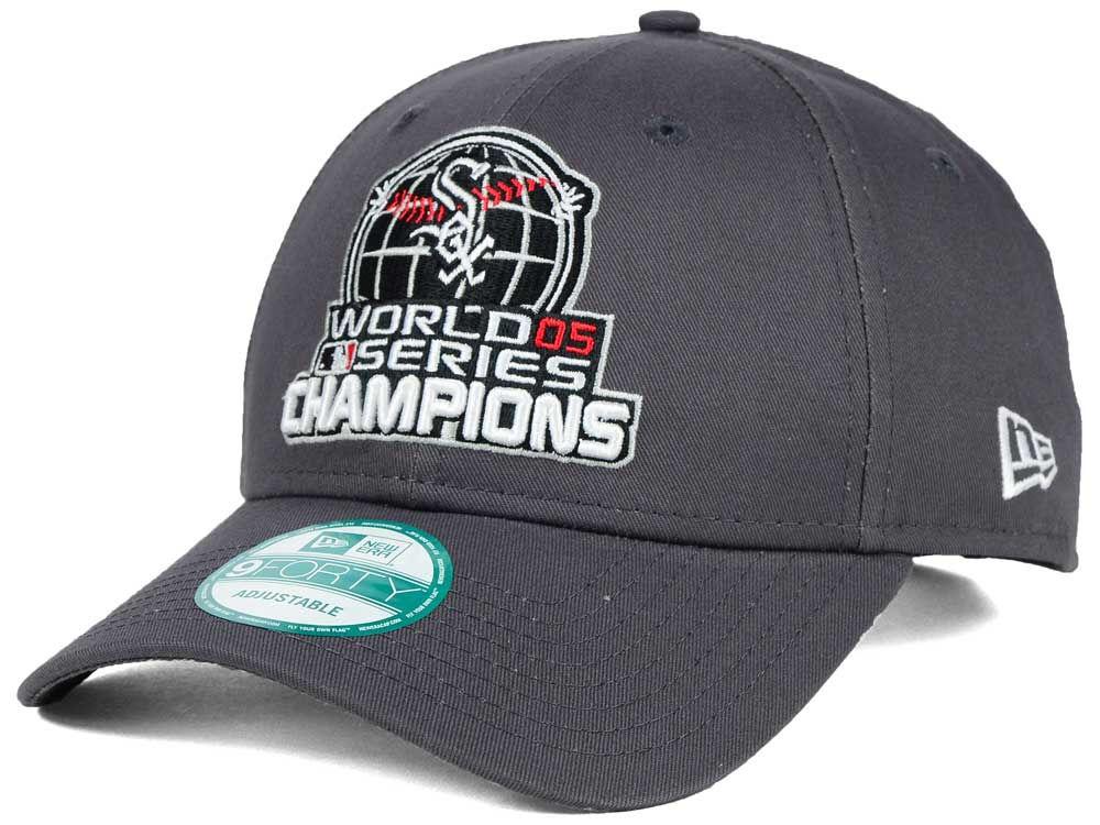 chicago white sox new era mlb 20th anniversary world series champ 9forty cap