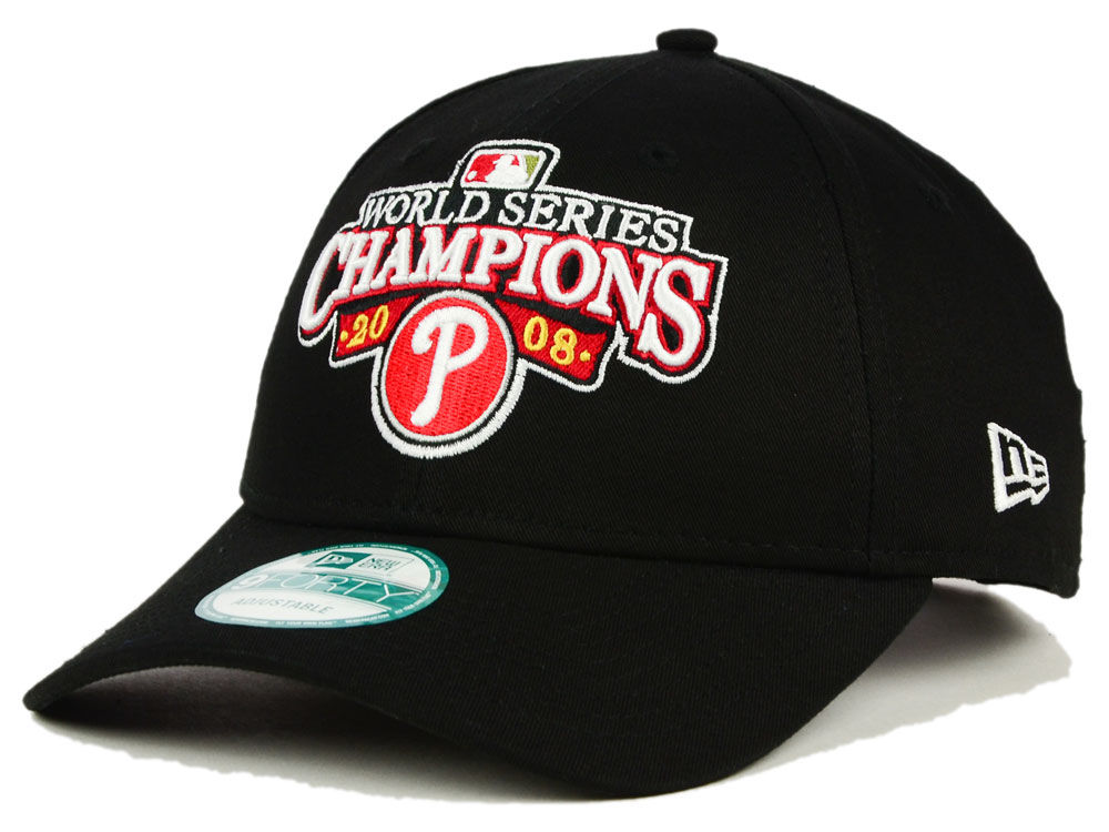 Philadelphia Phillies 2008 New Era MLB 20th Anniversary World Series Champ 9FORTY Cap