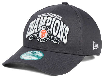 San Francisco Giants 2012 New Era MLB 20th Anniversary World Series Champ 9FORTY Cap