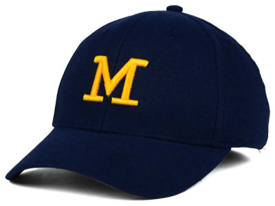 Michigan Wolverines adidas NCAA 2015 Hardball Flex Cap