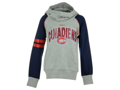 Montreal Canadiens NHL Youth Girls Cowl Hoodie