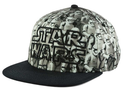 Star Wars Stormtrooper Army Snapback Hat