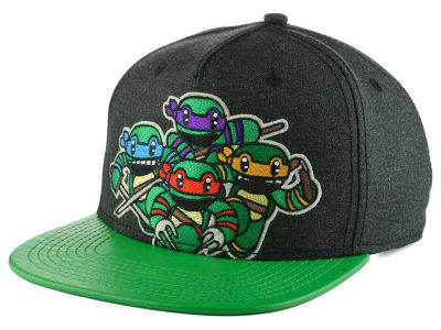 Teenage Mutant Ninja Turtles Attack Snapback Hat