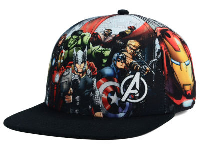 Marvel Big Panel Snapback Hat