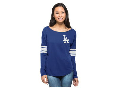 Los Angeles Dodgers MLB Women's Courtside Long Sleeve T-Shirt