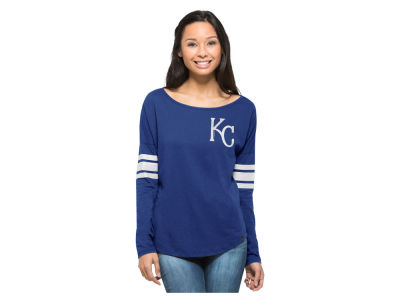 Kansas City Royals MLB Women's Courtside Long Sleeve T-Shirt